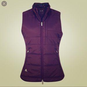 adidas 👟 Purple Primaloft Puffer Vest